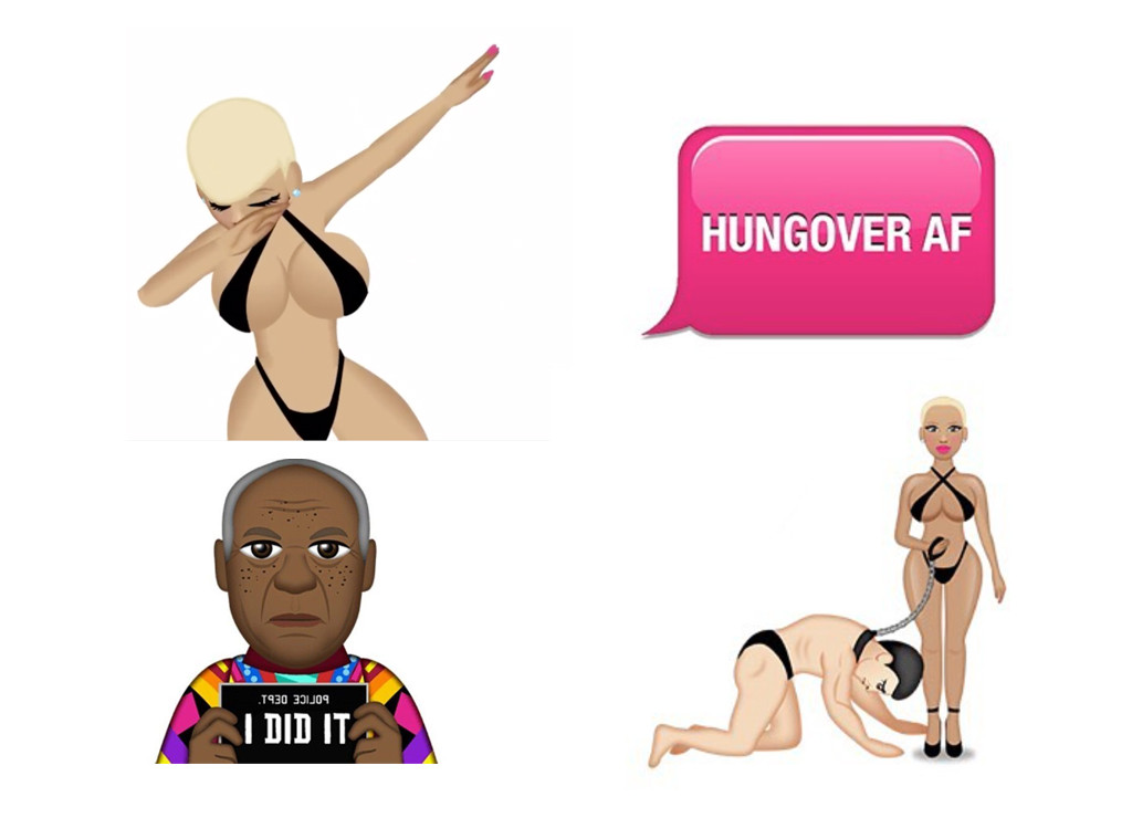 Best Celebrity Emojis, Amber Rose