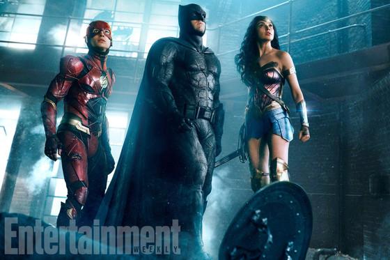 Batman, Flash, Wonder Woman, Justice League