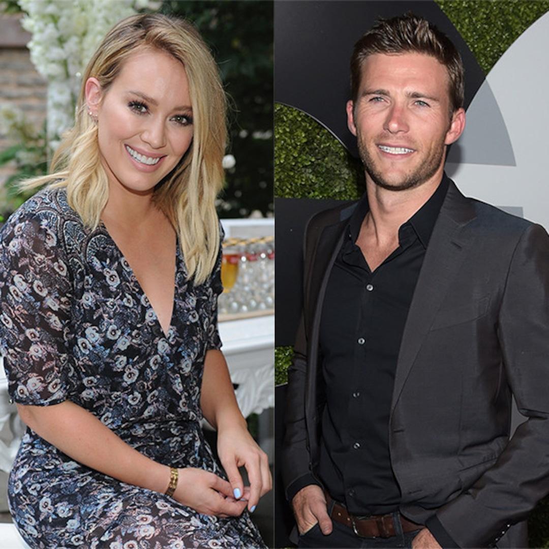 Newly Single Hilary Duff and Scott Eastwood Have a Flirty