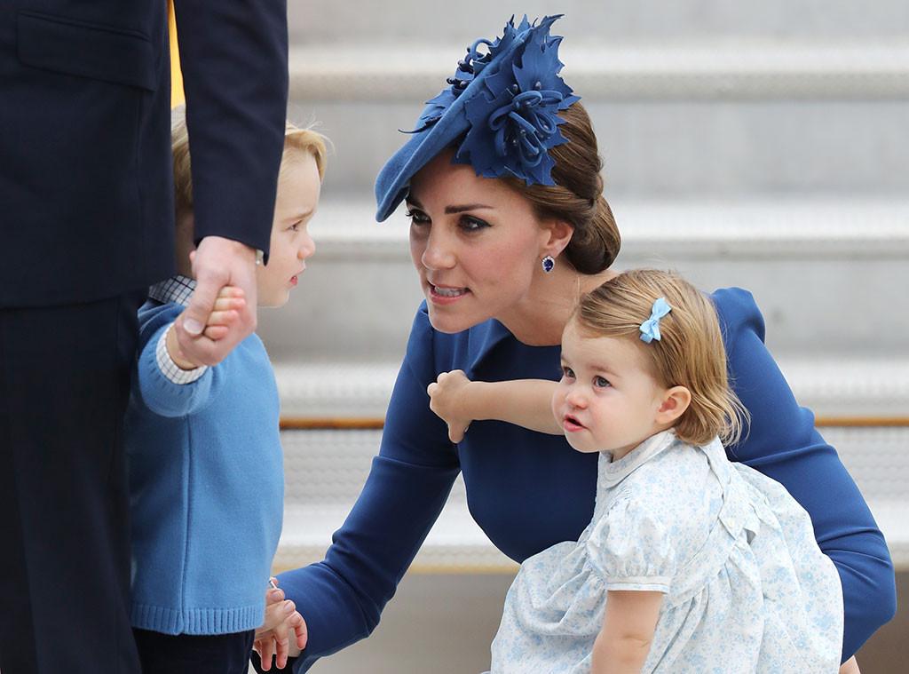 Kate Middleton, Prince William, Prince George, Princess Charlotte