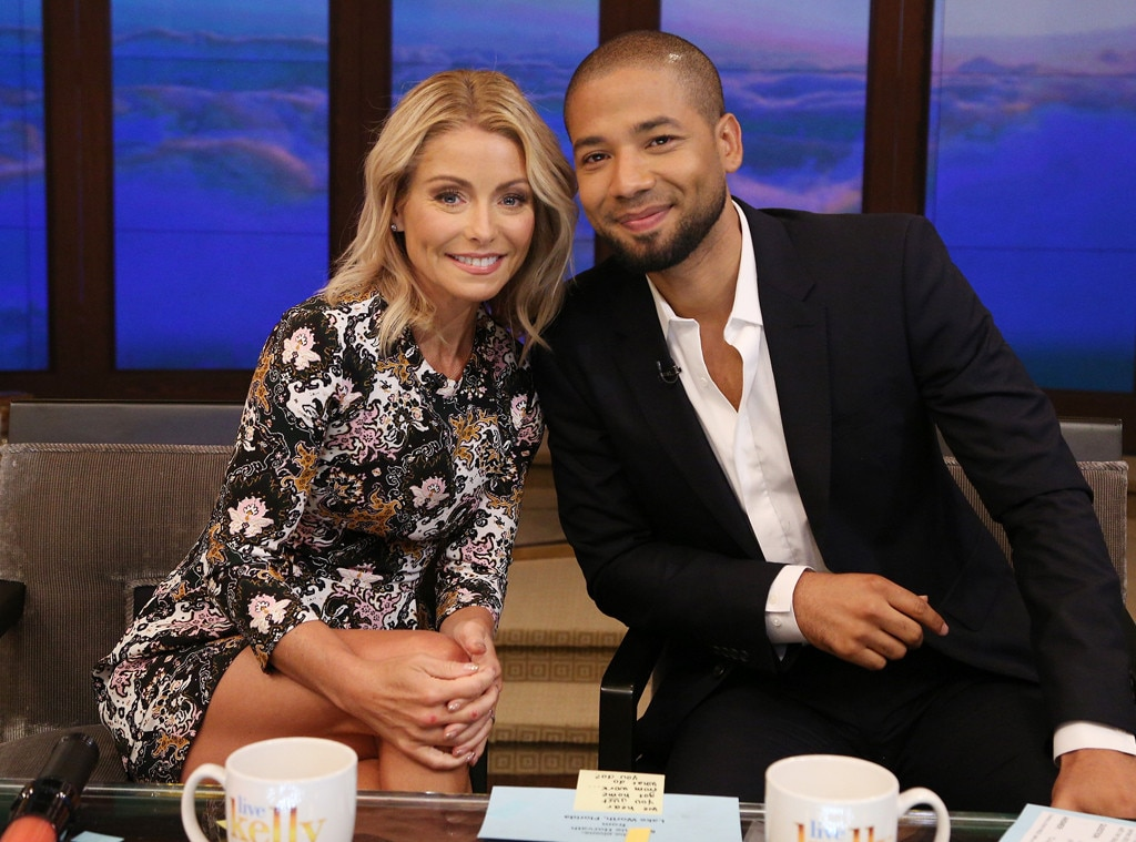 Live with Kelly, Kelly Ripa, Jussie Smollett