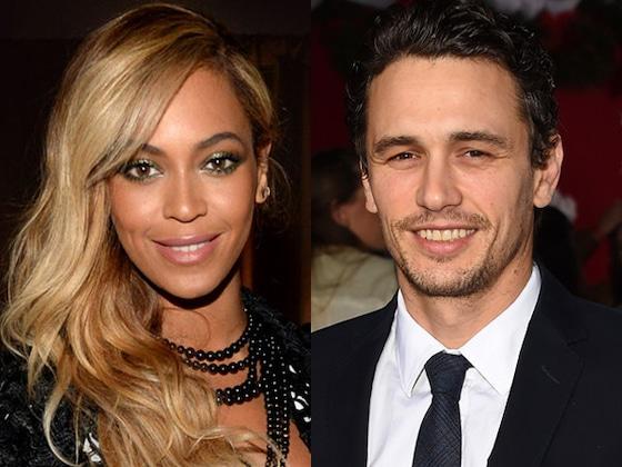 So sieht James Franco als Beyoncé aus