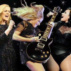 Adele, Ellie Goulding, Demi Lovato