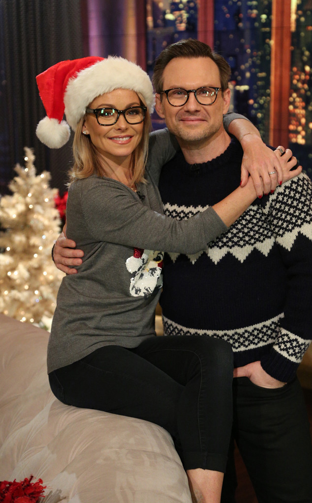 Live with Kelly, Kelly Ripa, Christian Slater