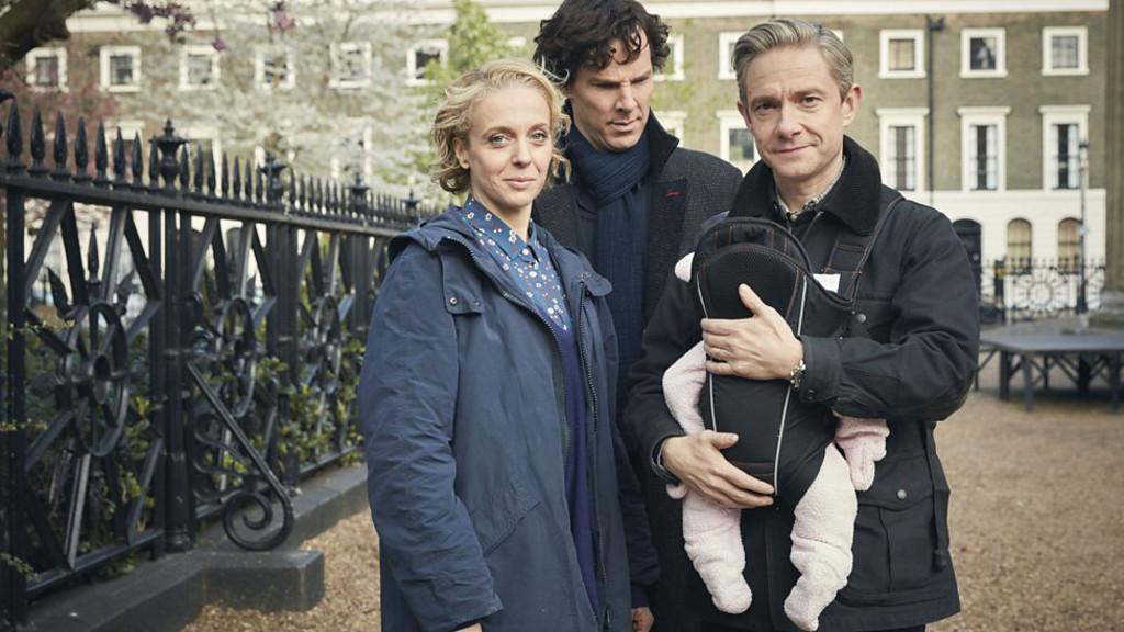 Sherlock, Benedict Cumberbatch, Martin Freeman, Amanda Abbington