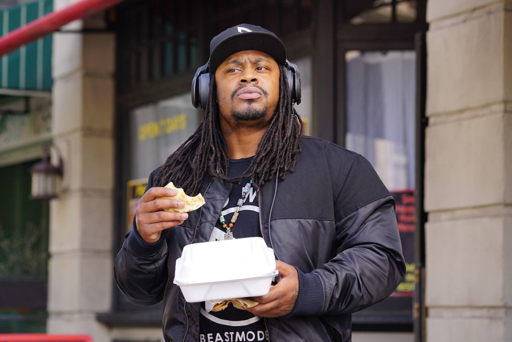 Brooklyn Nine-Nine, Marshawn Lynch