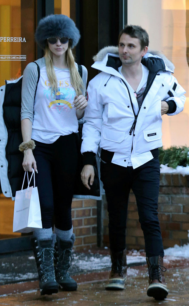 Matt Bellamy, Elle Evans