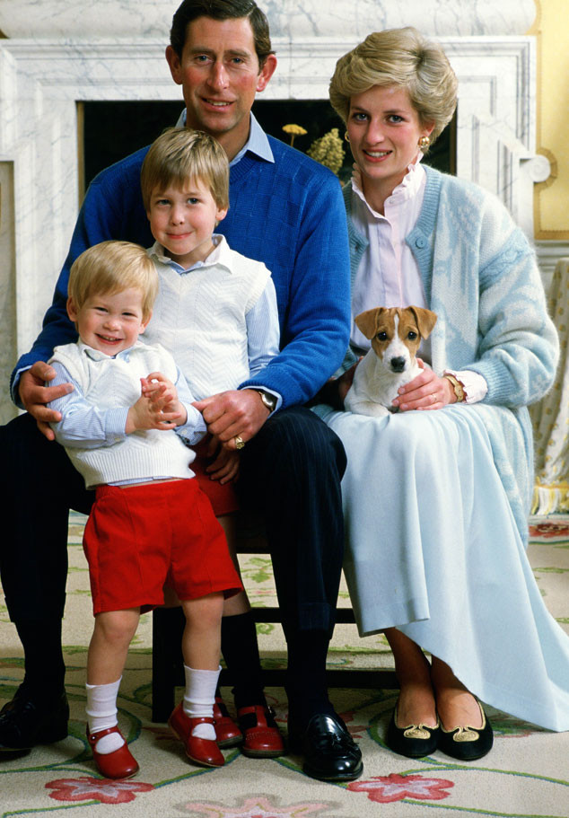 Prince Charles, Princess Diana, Prince William, Prince Harry
