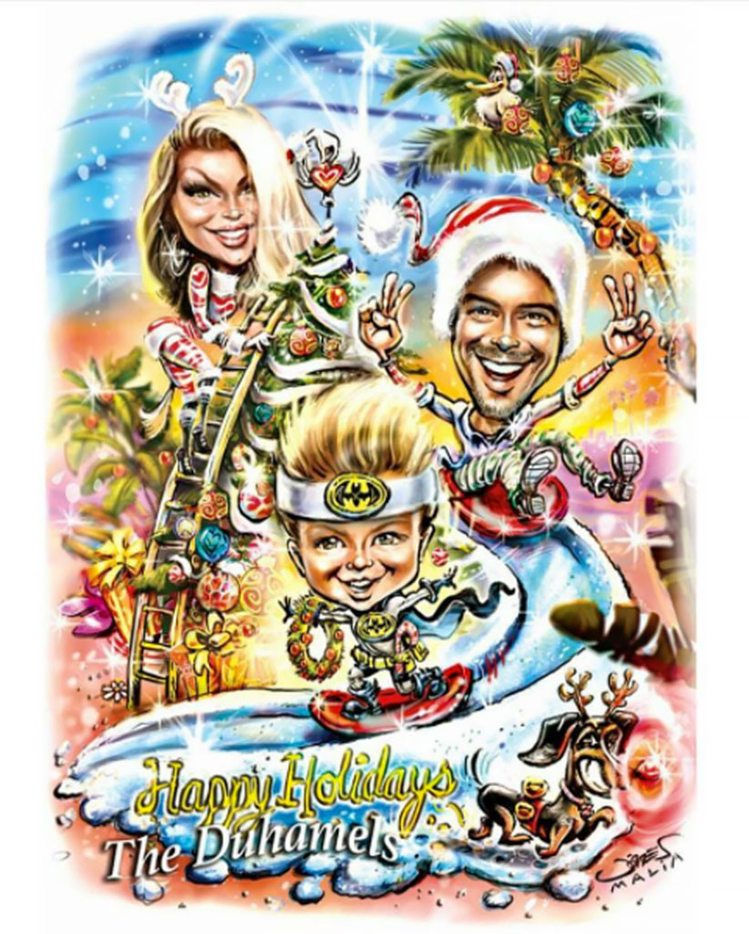Fergie And Josh Duhamels Christmas Card Will Likely Put Your