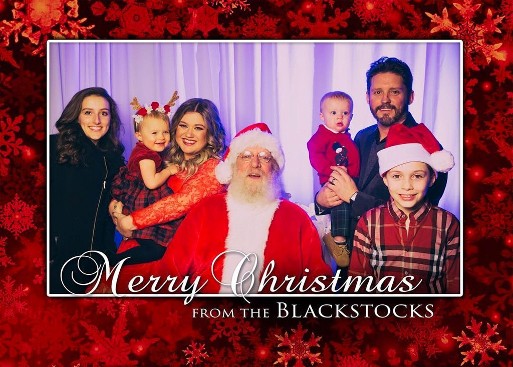 Christmas Cheer from Kelly Clarkson's Sweetest Family Photos