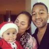 Chrissy Teigen Jokes About <i>Almost</i> Missing Baby Luna's Christmas Milestone