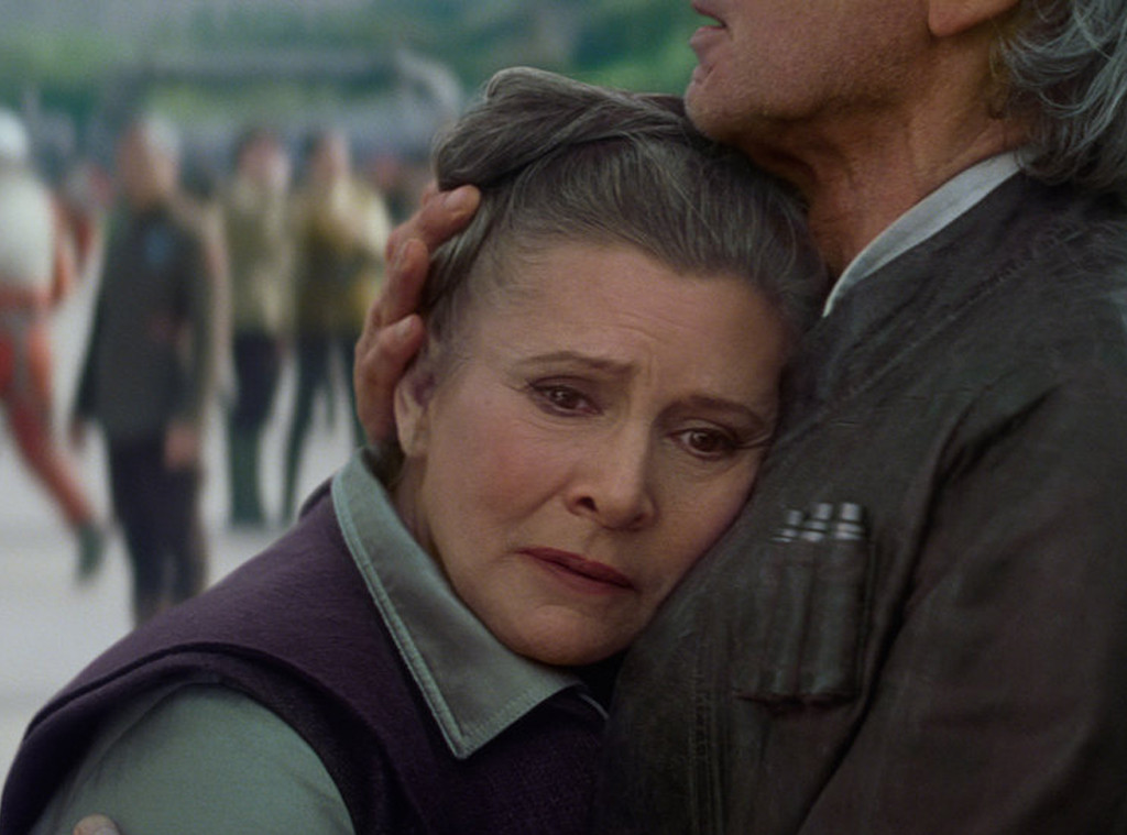 Carrie Fisher, The Force Awakens