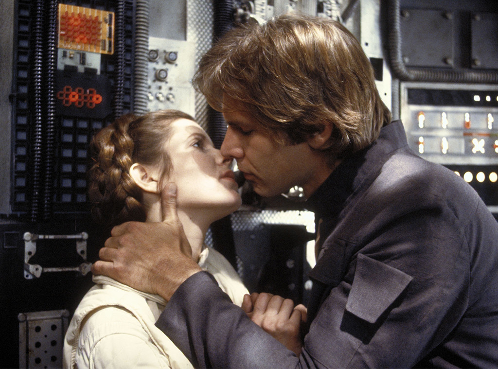 Carrie Fisher, Harrison Ford, The Star Wars Episode V - Empire Strikes Back - 1980