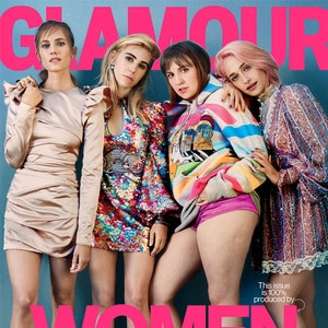 Girls, Lena Dunham, Allison Williams, Jemima Kirke, Zosia Mamet, Glamour