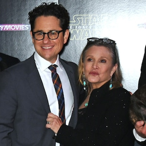 J.J. Abrams, Carrie Fisher