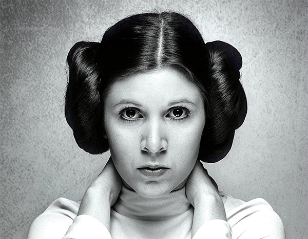 carrie fisher s princess leia was one of the few truly iconic