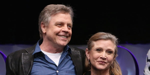 Mark Hamill Carrie Fisher Kiss