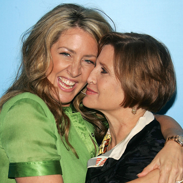Joely Fisher, Carrie Fisher, Instagram