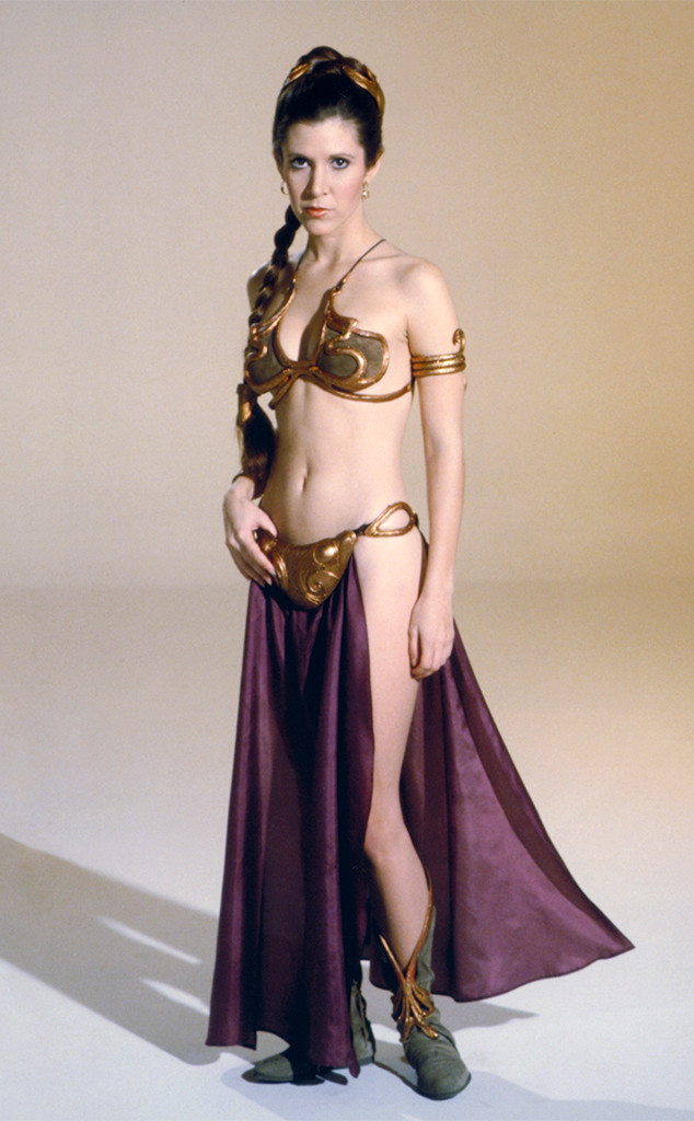 Carrie Fisher Didnt Love That Famous Gold Bikini As Much -3117
