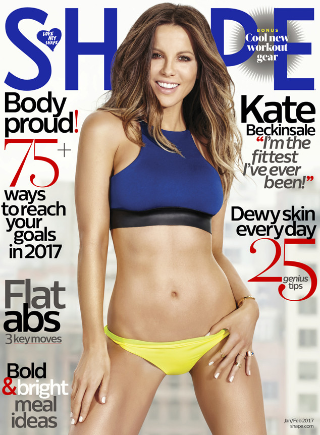 Shape Magazine, Kate Beckinsale
