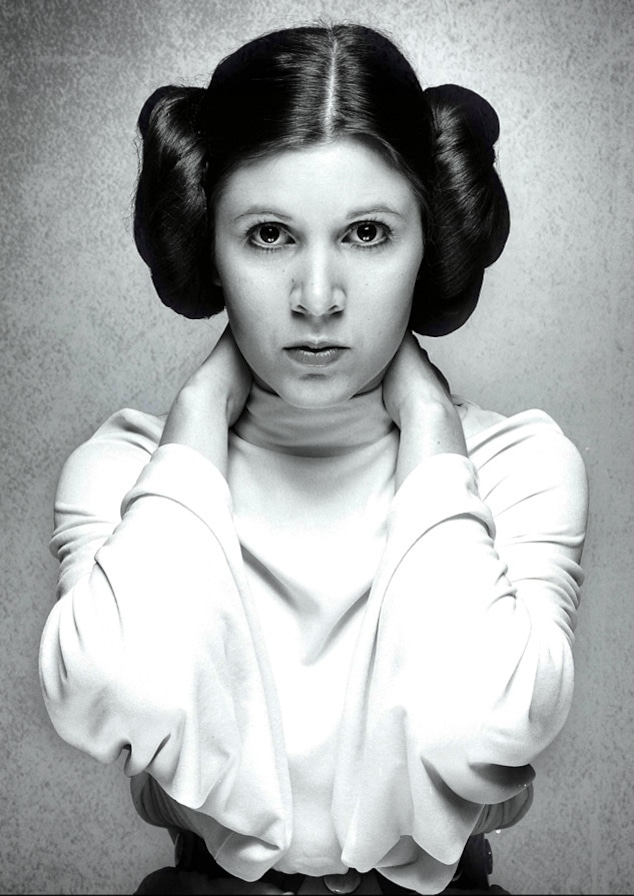 Carrie Fisher, Star Wars, 1977