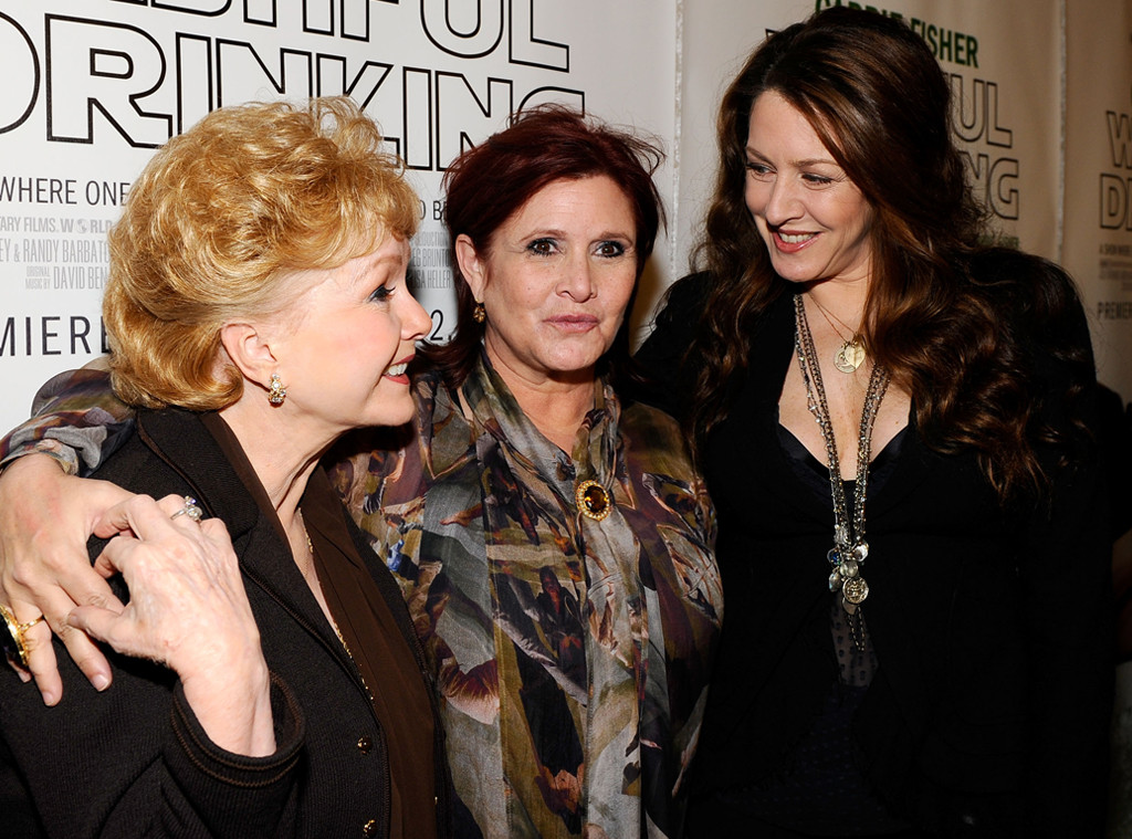 Debbie Reynolds, Carrie Fisher, Joely Fisher