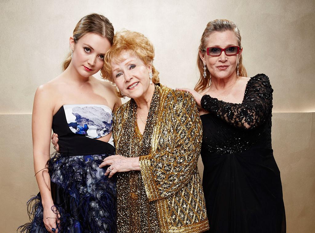 Billie Lourd, Debbie Reynolds, Carrie Fisher