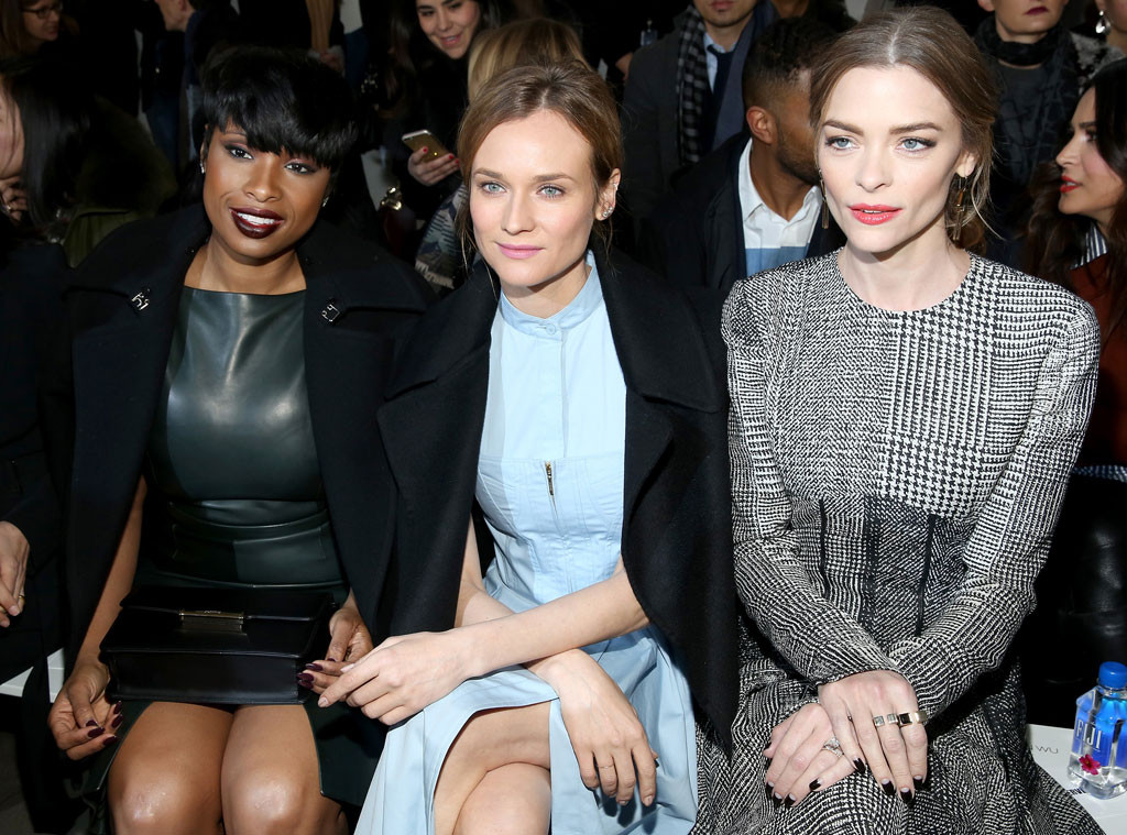 Jennifer Hudson, Diane Kruger, Jaime King, NYFW, New York Fashion Week Star Sighting