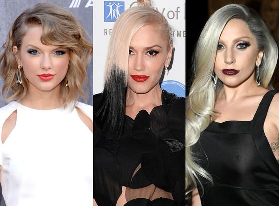 Taylor Swift, Lady Gaga, Gwen Stefan