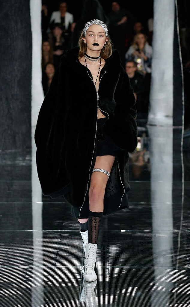 Gigi Hadid, New York Fashion Week Fall 2016