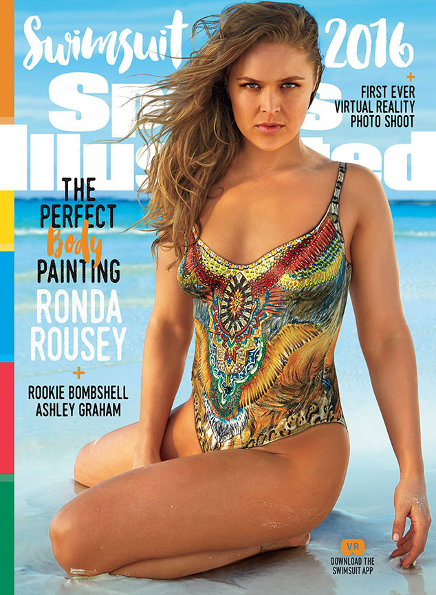 Sports Illustrated Swimsuit Issue 2016 Cover Girls Revealed Introducing Ronda Rousey Ashley Graham Hailey Clauson E Online