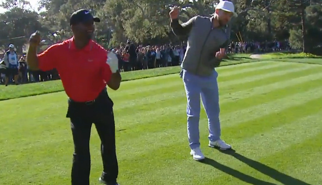 Justin Timberlake, Alfonso Ribeiro, The Carlton, Golf Tournament