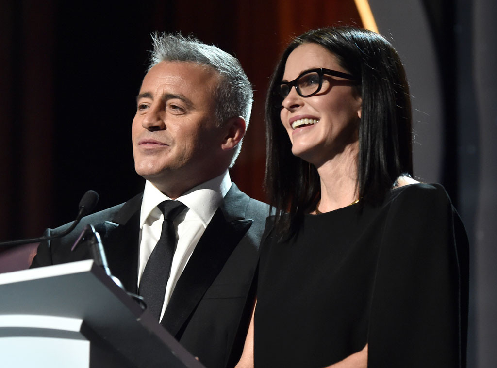 Courteney Cox, Matt LeBlanc, WGA
