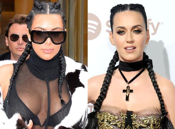 Katy Perry, Kim Kardashian