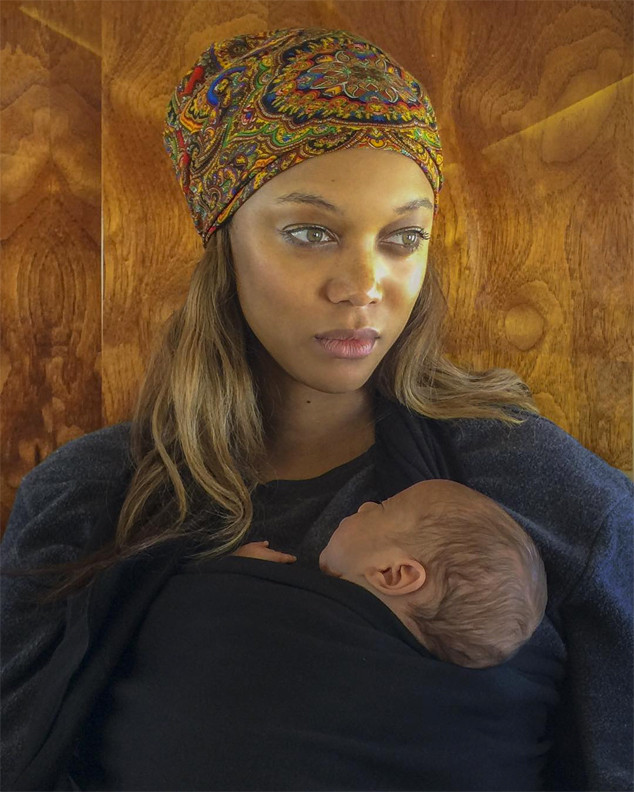 Tyra Banks, Baby, Son, York Banks Asla