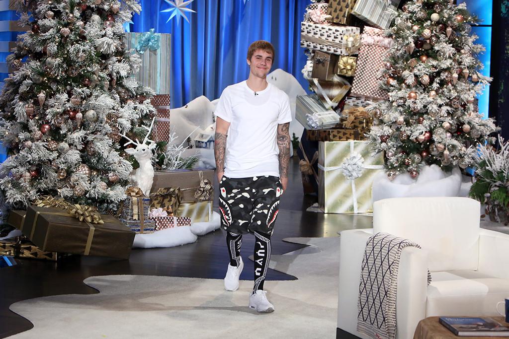 Justin Bieber, Ellen DeGeneres Show
