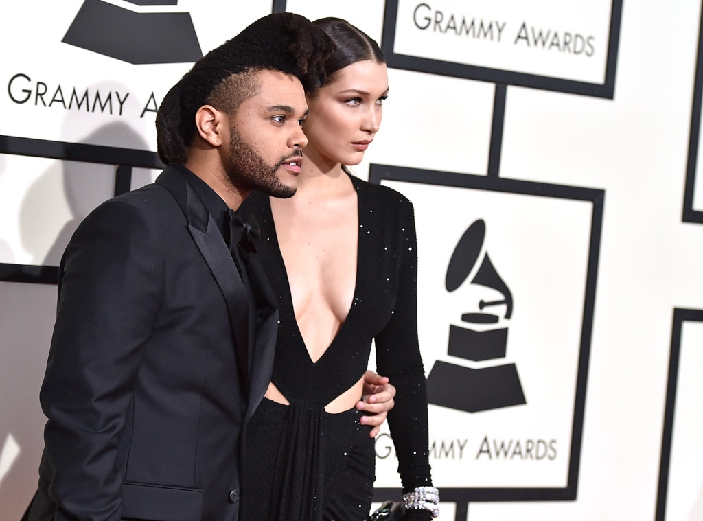 The Weeknd, Bella Hadid, 2016 Grammy Awards, Couples