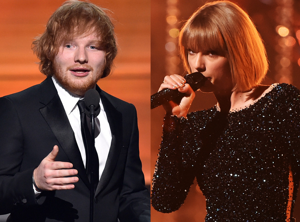 Taylor Swift Is More Excited Over Ed Sheeran's Big Win