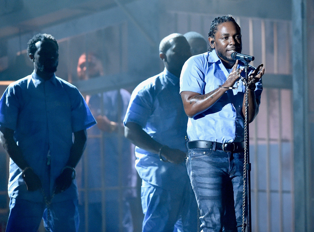 Kendrick Lamar, 2016 Grammy Awards, Show