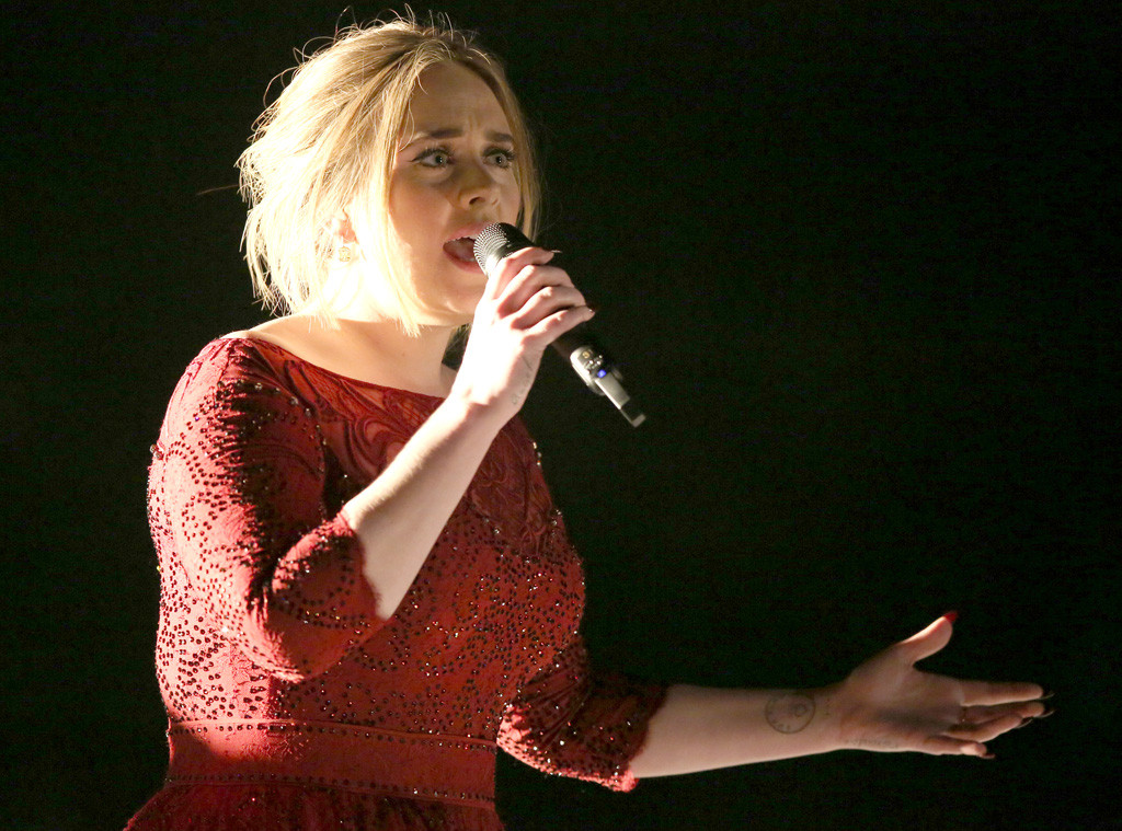 Adele, 2016 Grammy Awards, Show