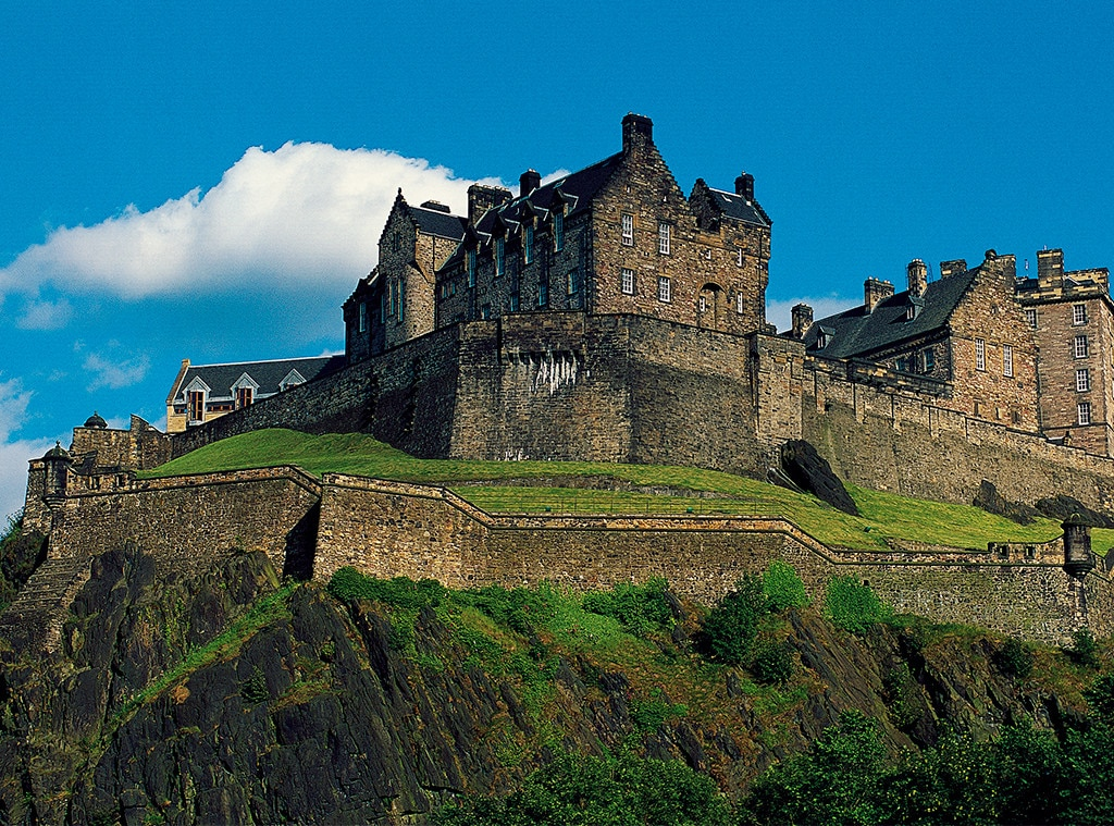 Craziest Royal Real Estate, Edinburgh Castle