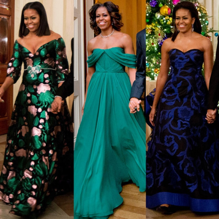 6bfe71620f A Recap of Michelle Obama's Standout Kennedy Center Honors Style | E! News  UK