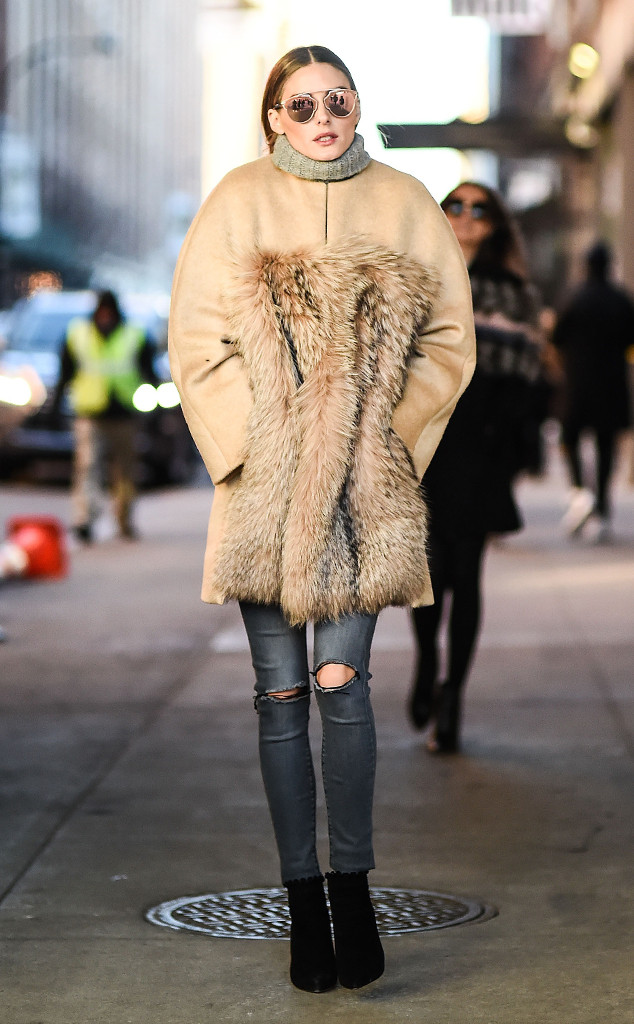 Olivia Palermo, Chic Sketch, New York Fashion Week Star Sighting