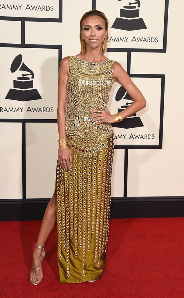 Giuliana Rancic, 2016 Grammy Awards