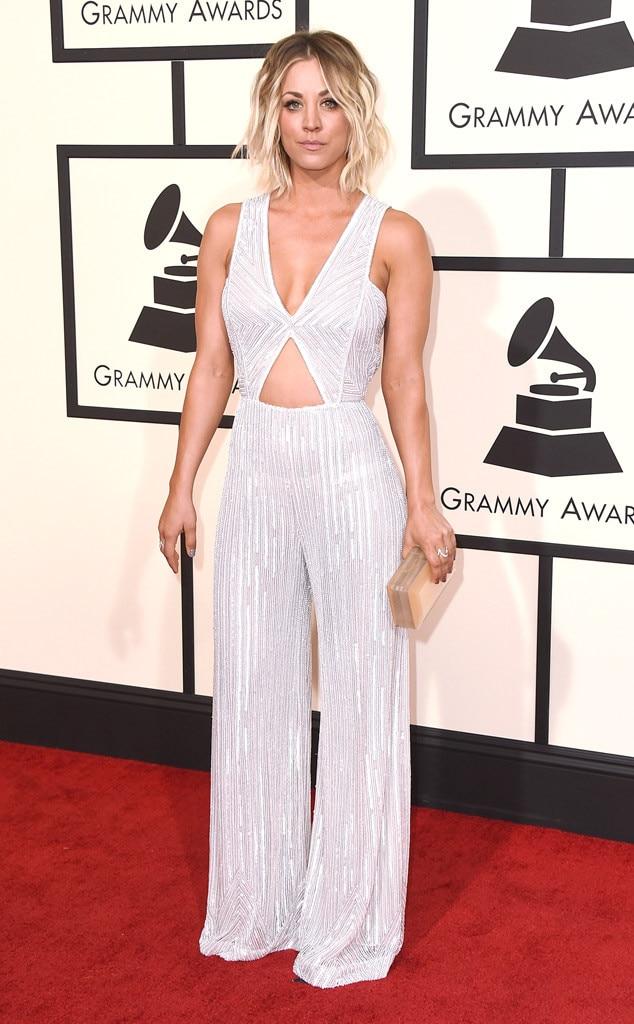 Kaley Cuoco, 2016 Grammy Awards