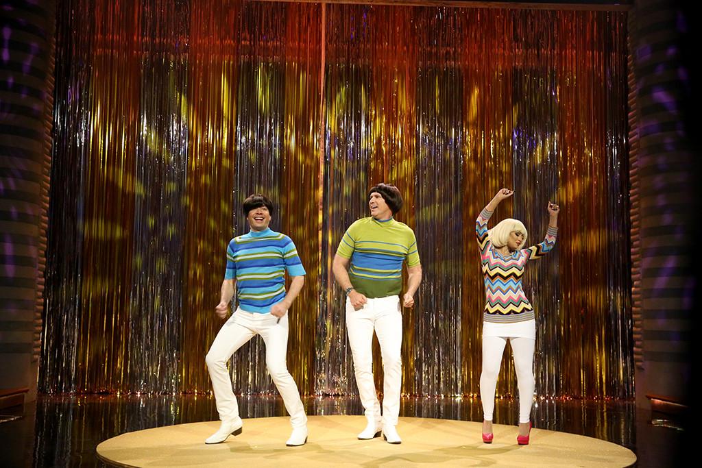Jimmy Fallon, Will Ferrell, Christina Aguilera, The Tonight Show