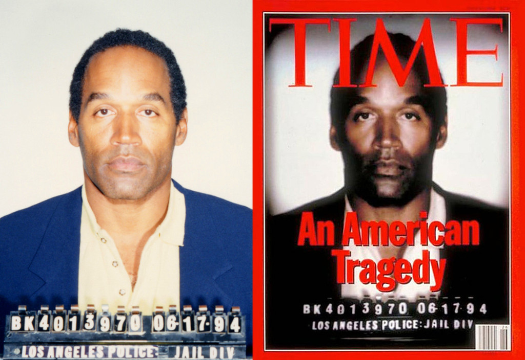 OJ Simpson, O.J. Simpson, Booking Photo, Mug Shot, Time Cover