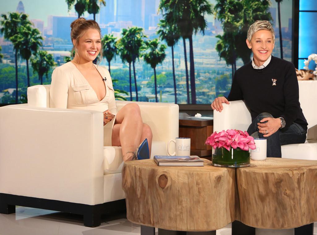 Ronda Rousey, The Ellen DeGeneres Show