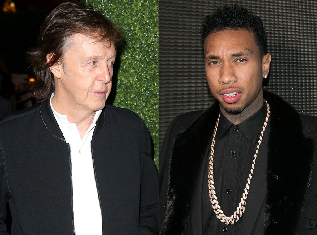 Paul McCartney Turned Away From Tygas Grammys 2016 Party Despite