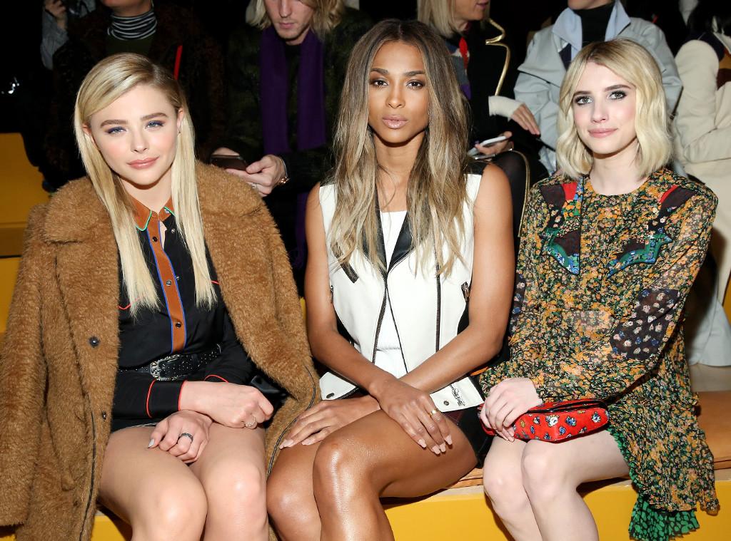 Chloe Grace Moretz, Ciara, Emma Roberts, Coach, New York Fashion Week Fall 2016, The Rundown